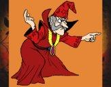 Coloriage Magicien colorié par EloMunoz66
