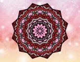 Mandala avec strate