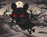 Coloriage Pipistrello de Halloween colorié par EloMunoz66