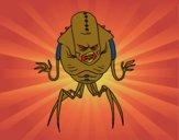 Alien arachnide