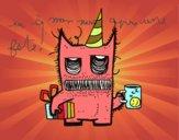 Cadeaux monstre d'anniversaire