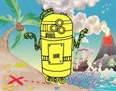 Robot en service