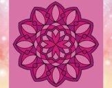 Coloriage Mandala 20 colorié par saradauphi