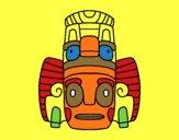 Masque mexicain des rituels