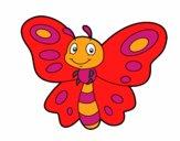 Papillon fantaisie