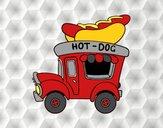 Food truck de hot-dog