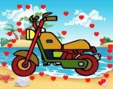 Motocyclette harley