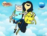 Volant avec Marceline