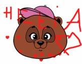 Face de Panda avec bonnet