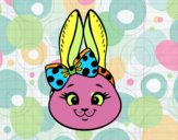 Face de petit lapin