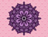Mandala éclat floral