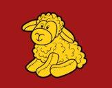 Moutons en peluche