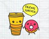 Café et beignes