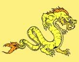 Dragon marche