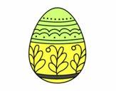 Œuf de Pâques mandala