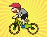 Enfant cycliste
