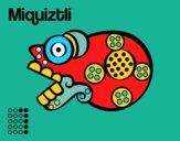 Les jours Aztèques: mort Miquiztli