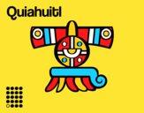 Les jours Aztèques: pluie Quiahuitl