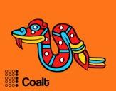 Les jours Aztèques: serpent Coatl