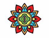Mandala fleur du lotus