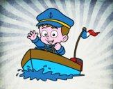Bateau et capitaine