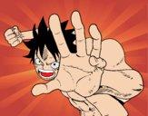 Combat Luffy