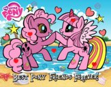 Poney Meilleurs amis pour toujours