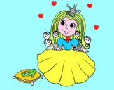 Princesse et pantoufle de verre