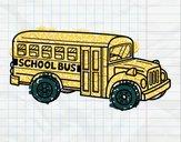 Autobus scolaire aux États-Unis