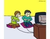 Enfants qui joue