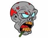 Tête de zombi