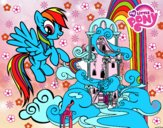 Rainbow Dash palais