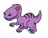 Dinosaure velociraptor