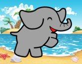 Éléphant danseur