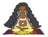 Enceinte à pratiquer le yoga