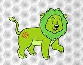 Lion adulte