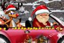 Père Noël de voiture