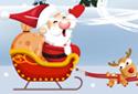 Père Noël en traîneau 2