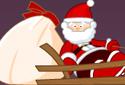 Père Noël en traîneau