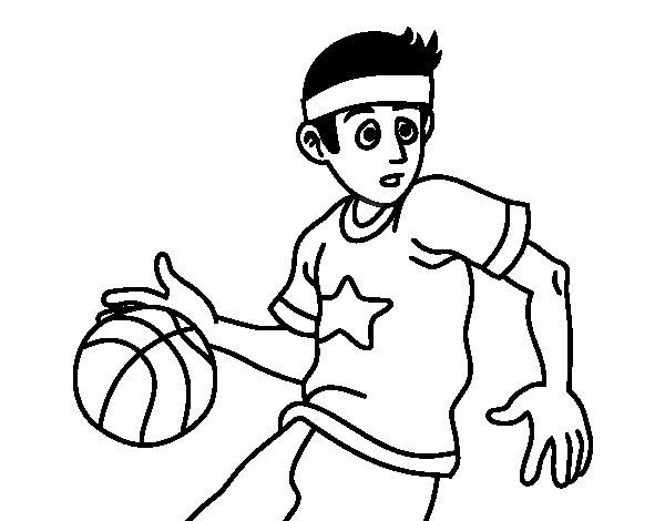 joueur de basket junior